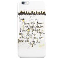 Beside you  iPhone Case/Skin