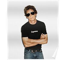 Supreme Lou Reed Poster