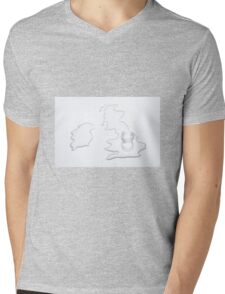 Planet Earth - United Kingdom Mens V-Neck T-Shirt