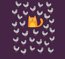 Cat Among The Pigeons Womens Fitted T-Shirt