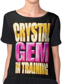 Crystal GEM In Training Chiffon Top