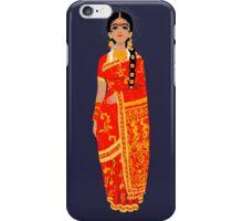 Original Work - Lady in Kanchi Saree iPhone Case/Skin