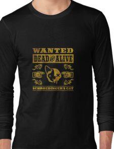 Schrödingers Katze - Schroedinger's Cat, distressed Long Sleeve T-Shirt