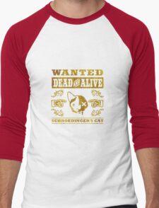 Schrödingers Katze - Schroedinger's Cat, distressed Men's Baseball ¾ T-Shirt
