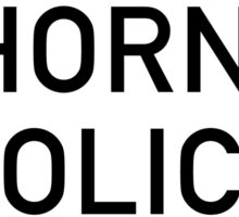 Horní Police Sign, Czech Republic Sticker