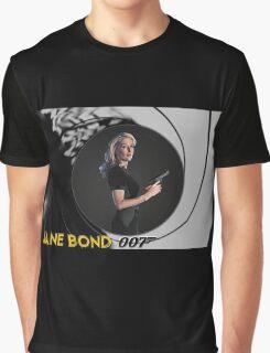 Gillian Anderson for Jane Bond Graphic T-Shirt