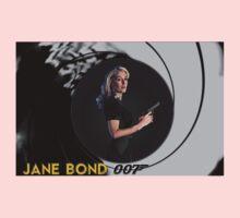 Gillian Anderson for Jane Bond Baby Tee