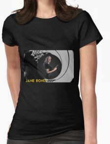 Gillian Anderson for Jane Bond Womens Fitted T-Shirt
