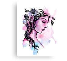 Ink Fairy Canvas Print
