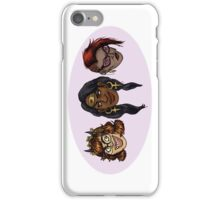 DC Grrrls - Heroes iPhone Case/Skin