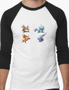 Golden Sun Djinn Men's Baseball ¾ T-Shirt
