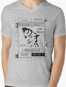 30 Rock (1-900-OKFACE) Mens V-Neck T-Shirt