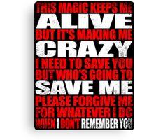 I Remember You - Marceline's Verse Canvas Print