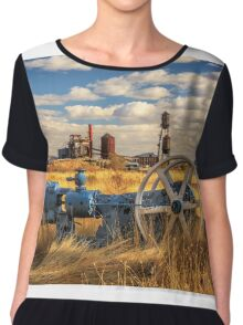 The Old Lumber Mill Chiffon Top