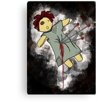 Voodoo doll Canvas Print