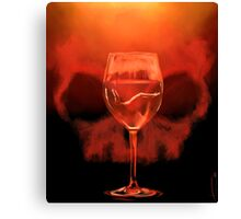 Something Red For Bedelia Canvas Print