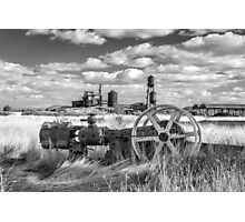 The Old Lumber Mill BW Photographic Print
