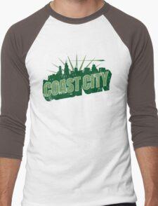 Greetings From Coast City Men's Baseball ¾ T-Shirt