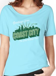 Greetings From Coast City Women's Relaxed Fit T-Shirt