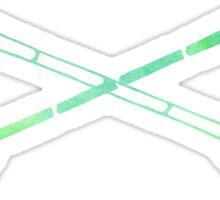Neon Arrows Sticker
