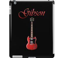Red Gibson SG iPad Case/Skin