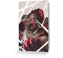 Angry Winston Greeting Card