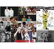 Kian and Jc fan art / unofficial merch! xx Photographic Print