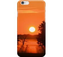 Burning Orange iPhone Case/Skin