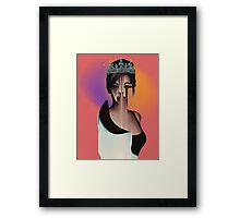 It Was Beyonce at One Point Glitch Framed Print