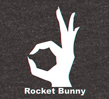 Rocket Bunny - 3D Logo Unisex T-Shirt