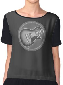 Cool Les Paul Guitar Chiffon Top