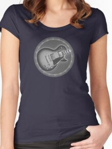 Cool Les Paul Guitar Women's Fitted Scoop T-Shirt