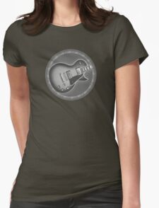 Cool Les Paul Guitar Womens Fitted T-Shirt