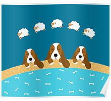 Dogs and Sheep Poster