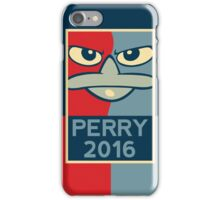 Perry the Platypus For President 2016 iPhone Case/Skin