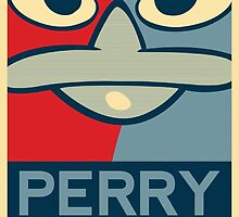 Perry the Platypus For President 2016 by Ken Starzer