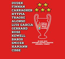 Liverpool 2005 Champions League Final Winners Unisex T-Shirt