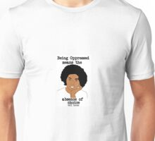 bell hooks Justice Quote Unisex T-Shirt