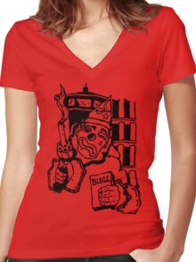 cape fear tattoo Women's Fitted V-Neck T-Shirt