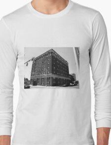 Burlington, North Carolina - Main Street Long Sleeve T-Shirt