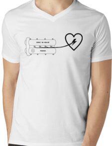 Mazda MX-5 Valvecover heart Mens V-Neck T-Shirt