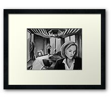 Scully x Stella x Bedelia Framed Print