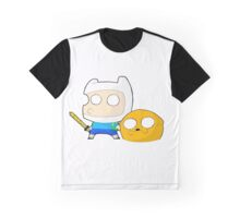 Finn&Jake Chibi Graphic T-Shirt