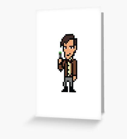 Matt Smith - Doctor Who Greeting Card