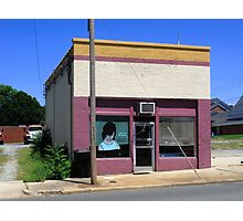 Burlington, North Carolina - Small Town Business Photographic Print
