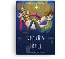 Death's Hotel Canvas Print
