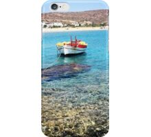 Manganari Boat iPhone Case/Skin