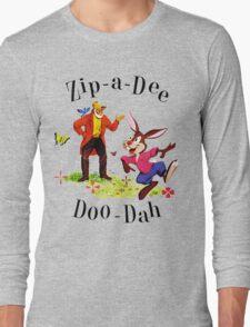 """Uncle Remus and Brer Rabbit """"Zip-A-Dee Doo-Dah"""" Shirt Long Sleeve T-Shirt"""