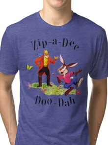 """Uncle Remus and Brer Rabbit """"Zip-A-Dee Doo-Dah"""" Shirt Tri-blend T-Shirt"""