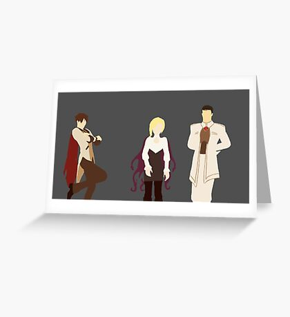 Adults of RWBY Greeting Card